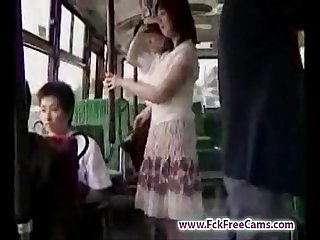 Masturbation in bus fckfreecams com