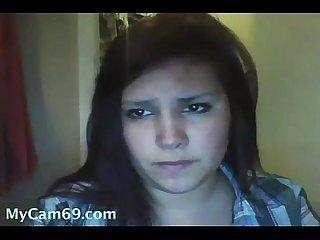 Cute chubby avril live on webcam mycam69 com