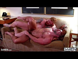 Handsome prostitute bennett anthony gives dirk caber a solid ass fucked