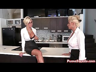 Puma swede bobbi eden are the lesbian office slut excl