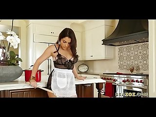 Pearls and lace scene with valentina nappi