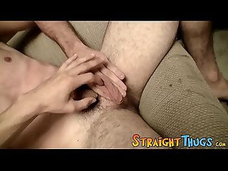 Rod suckers Devin Reynolds and Dean Inja masturbate together