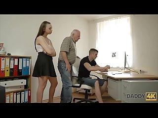 Dad will fucking your girlfriend while you're sitting at the PC