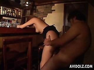 Ravaging the Asian slut and she gets it deep