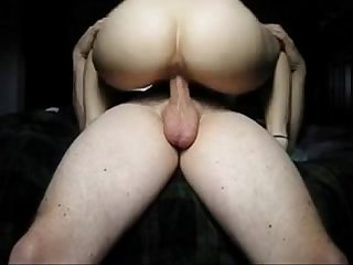 Milf rides a long dick