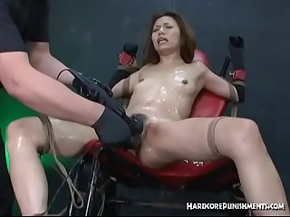 BDSM Extreme Action With Bondage Toys and Orgasms
