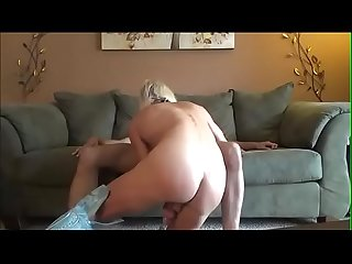 Transslave com one best anal creampie with chastity cum eating