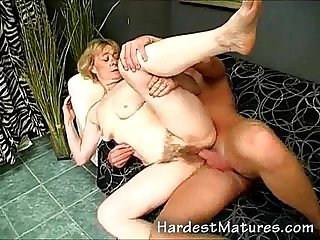 Extreme hairy granny snatch nailed
