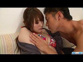 Mayuka akimoto feels hard pounding in her twat