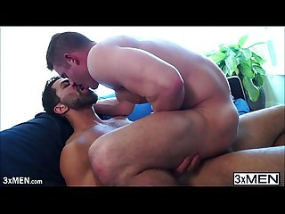 Fat cock adam ramzi shot lots of sticky loads into killian james face