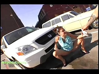 Daisy t public flashing daring hot pt1