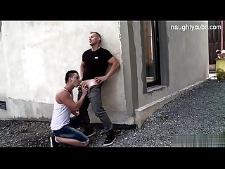 Hot brothers doggy anal