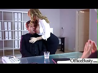 (Stacey Saran) Busty Slut Office Girl Love Hardcore Sex clip-28