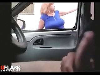 Grandmother dick flash compilation