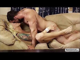 Sassy Ts Aubrey Kate and stud Jaxton hard anal