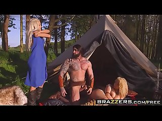 Brazzers - Storm Of Kings XXX Parody Part 2 Aruba Jasmine�and�Peta Jensen�and�Ro