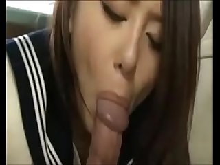 Cum in mouth public