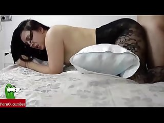 Lingerie and fuck period homemade amateur spycam with my gf raf105