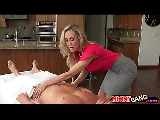 Taylor whyte and brandi love sharing dick on massage table
