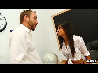 WANKZ- Ruby Reyes Seduces Her Professor