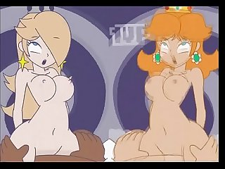 Rosalina and Daisy minus8