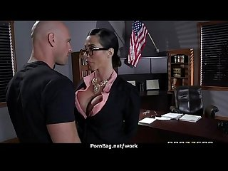 Busty chick is desperate for a raise and fucks her boss and earn it 26