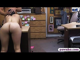 Pretty babe banged by pawn dude in exchange for money