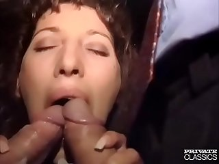 Dirty French Slut Sucks and Fucks