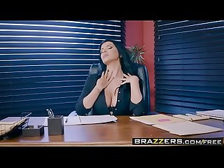 Brazzers big tits at work anal audit scene starring romi rain sean lawless