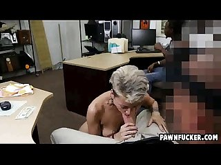 Black guy watches as his tatted up girl sucks A fat white cock