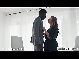 Sad Skylar Snow Gets Assfucked By Her Black Employee