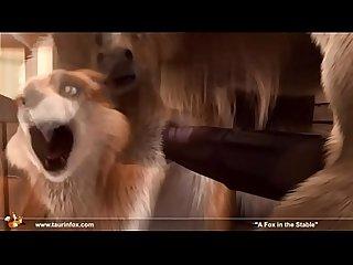A raposa no estabulo