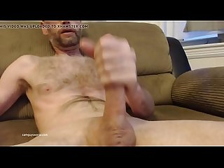 Older Stud Shows Off His Long Cock ( Camguysworld.com )