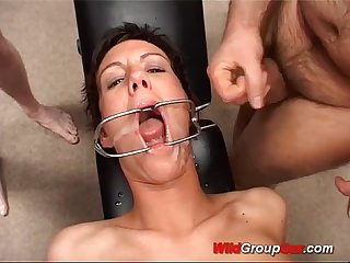Big Ass german in wild groupsex Orgy