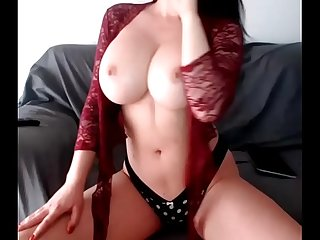 Camgirl with big boobs is playing more at www period camkandy period com