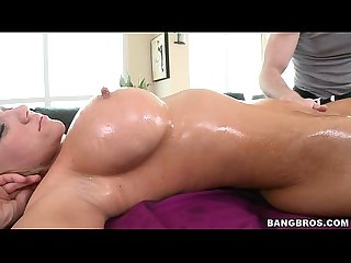MILF gets a Proper Oil Rubdown