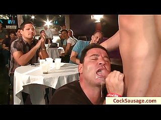 Very nice gay cock sausage party by cocksausage