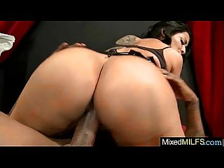 Mixt hard sex with monster black cock deep in holes of sexy milf kiara mia video 20
