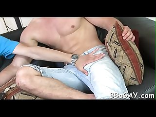 Zealous oral stimulation and explicit ass drilling with hot gays