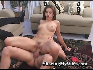 Beautiful wifey craves stranger S cock