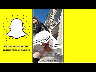 Private Snapchat Compilation � Fetish, Public Nude, High Heels, Erotic by Jeny..