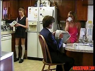 Dirty Step Dad Fuck His Hot Step Daughter: Free Porn 42 - abuserporn.com