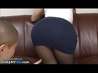 Japanese beauty in black pantyhose got banged more at elitejavhd com