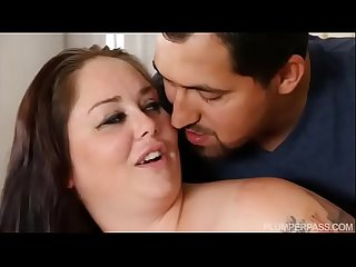 Preggo BBW Vanessa London Gets Fucked By Stranger