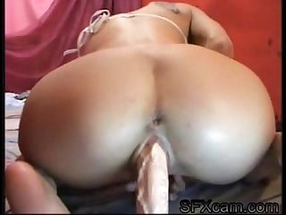Sexy babe toying her ass on the web live sex chat sfxcam com