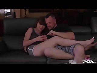 Teasing daddy