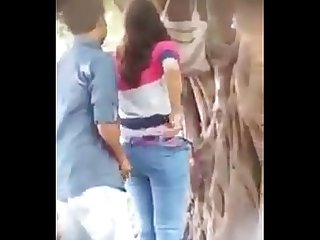 Myanmar spying young couple outdoor sex 26