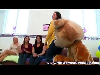 Cfnm stripper blowjobs facials