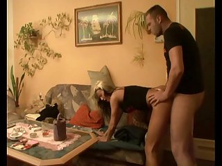 Homemade video of sexy blonde fucking