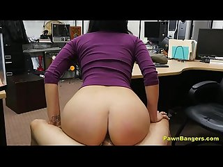 Perfect tits latina babe deepthroat hard fuck